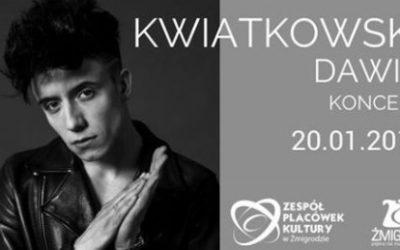 Dawid Kwiatkowski w Żmigrodzie