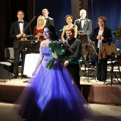 Monika Gruszczyńska podczas koncertu Gali Operetkowej
